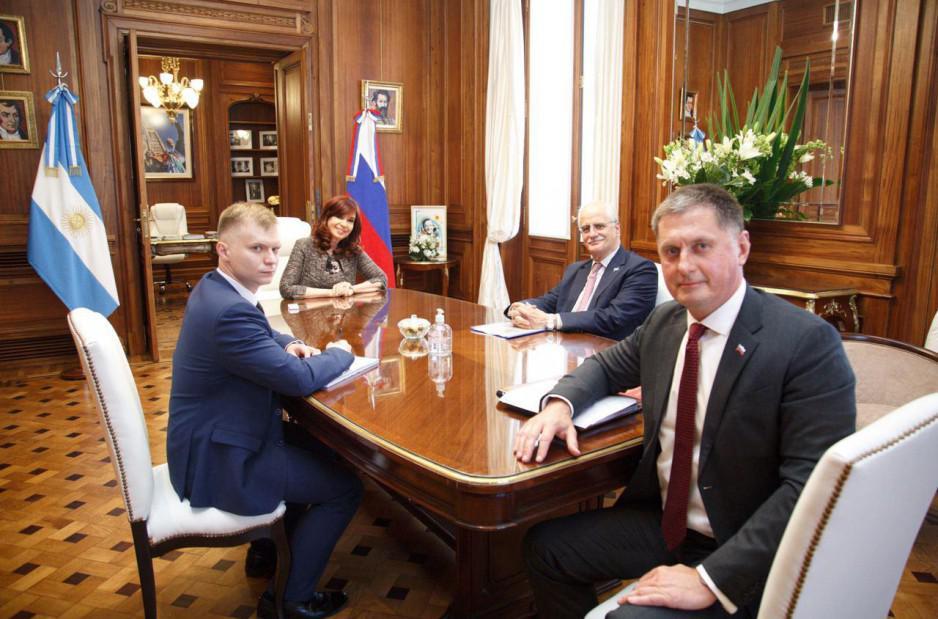 Senado embajador ruso