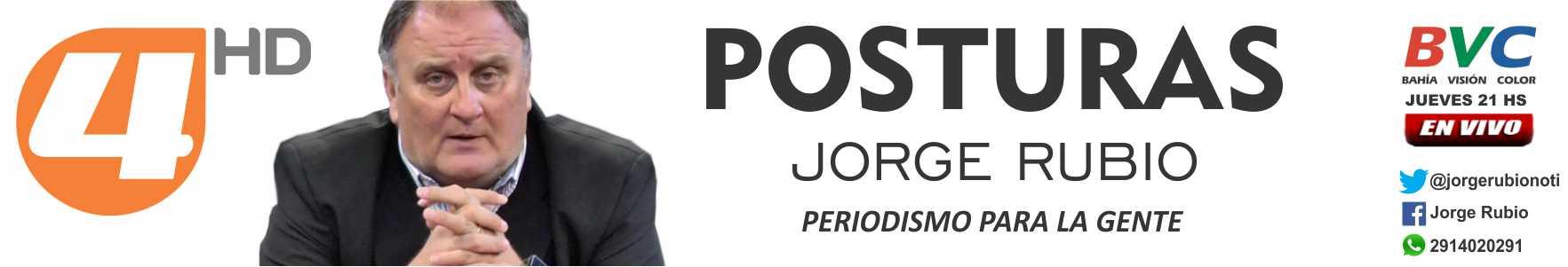 Jorge Rubio Periodismo para la Gente